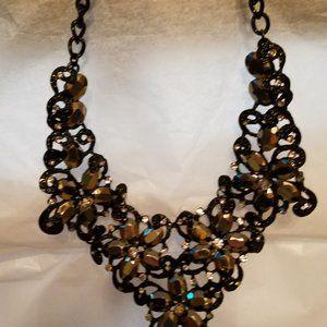 Shimmery Vtg.  Necklace